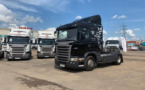 Scania G380 HighLine 2011г